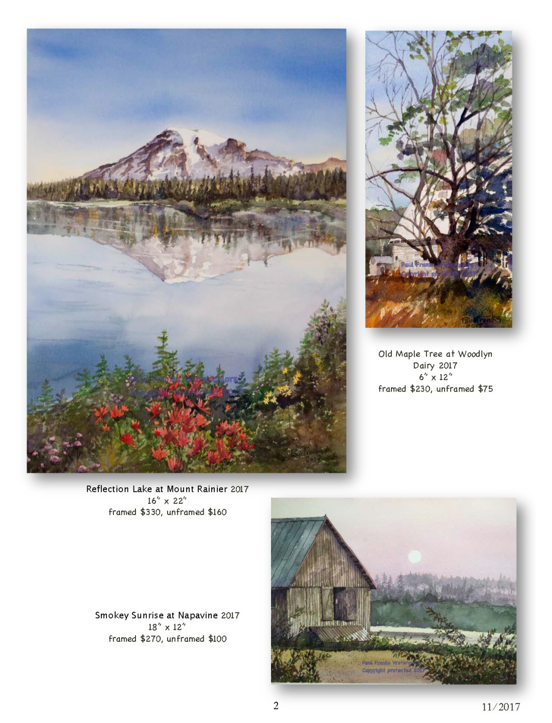 Paul Franks Watercolor Catalog-3 NW Landscapes_Page_2