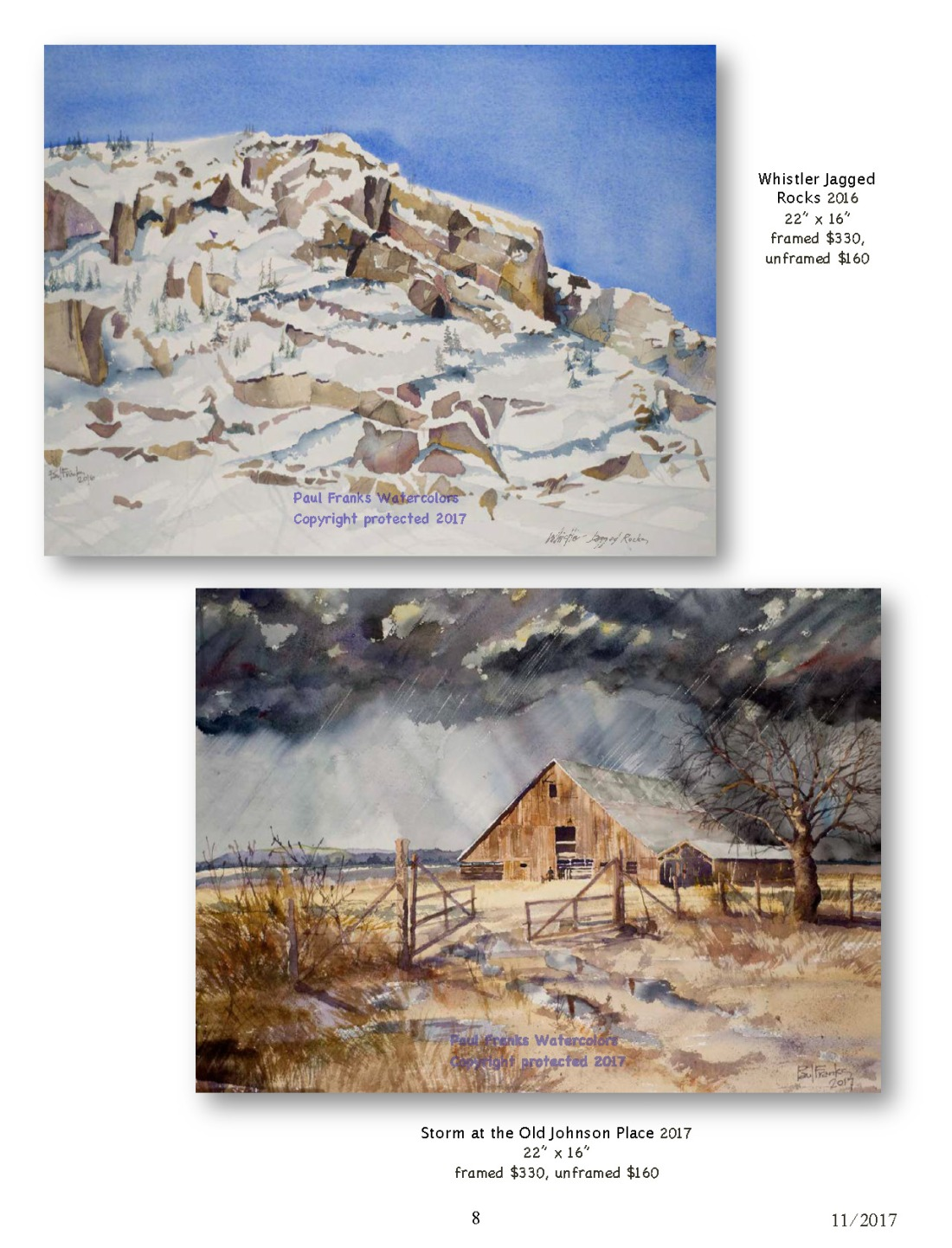 Paul Franks Watercolor Catalog-3 NW Landscapes_Page_8