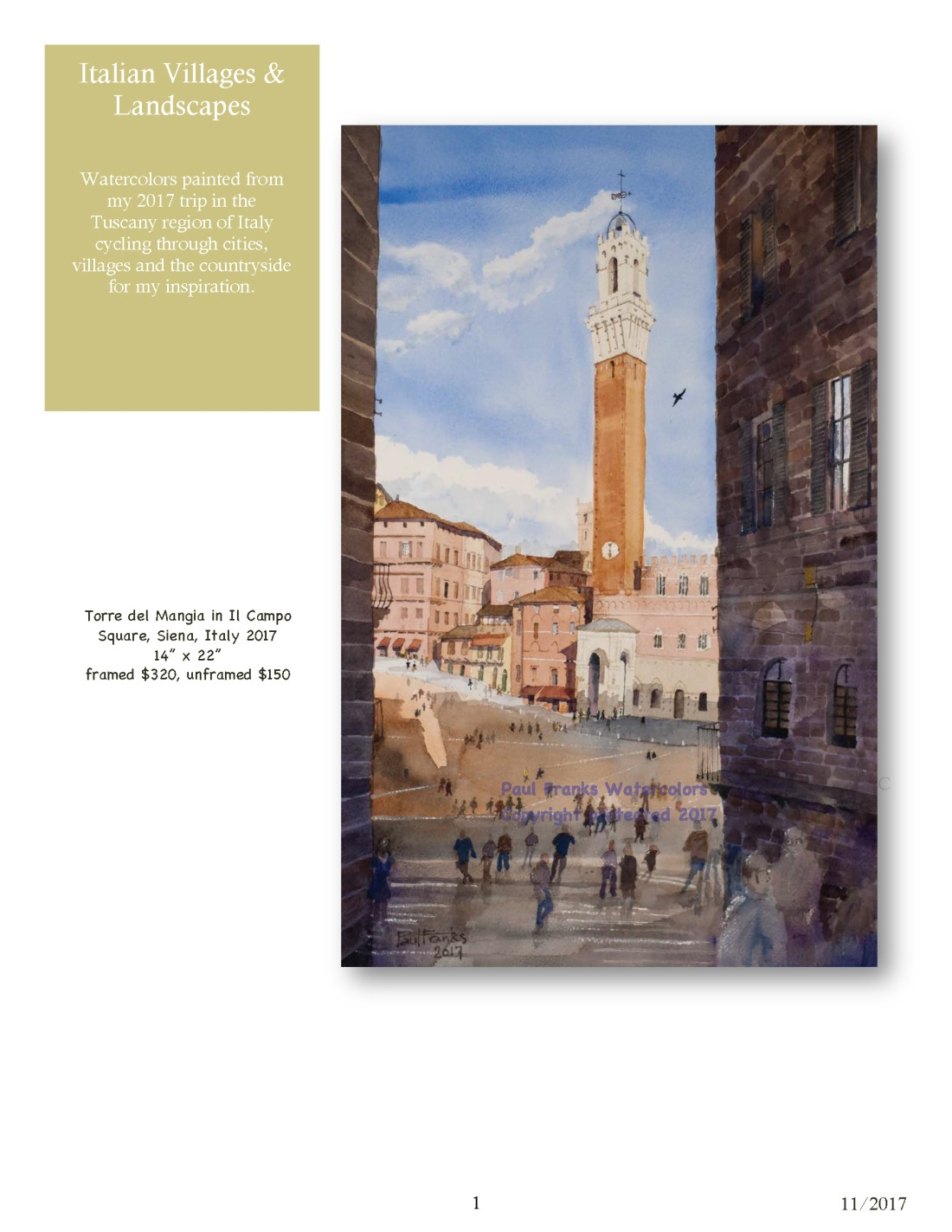 Paul Franks Watercolor Catalog-4 Italian Village_Landscapes_Page_1