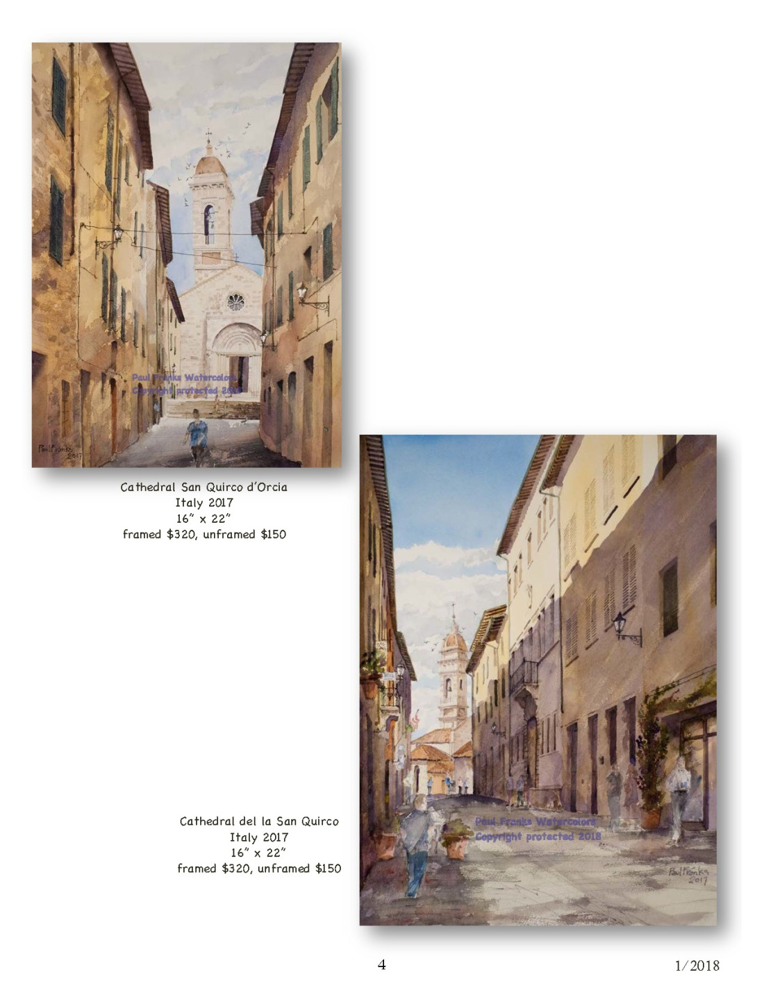 Paul Franks Watercolor Catalog-4 Italian Village_Landscapes1_11_18_Page_4