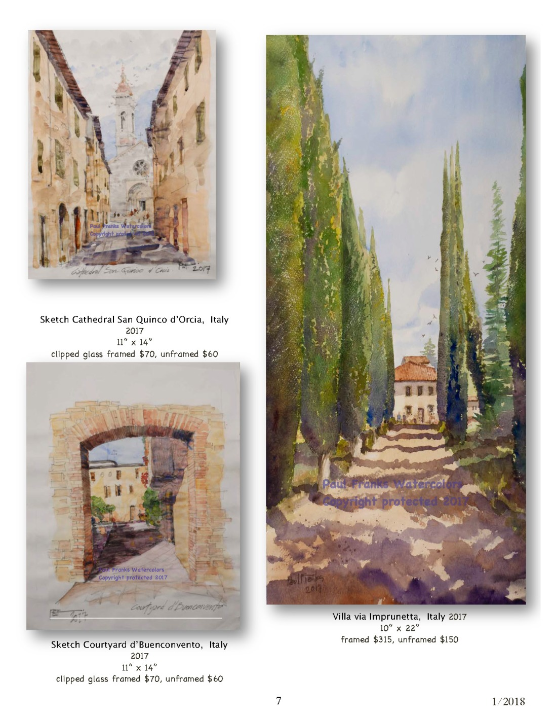 Paul Franks Watercolor Catalog-4 Italian Village_Landscapes1_11_18_Page_7