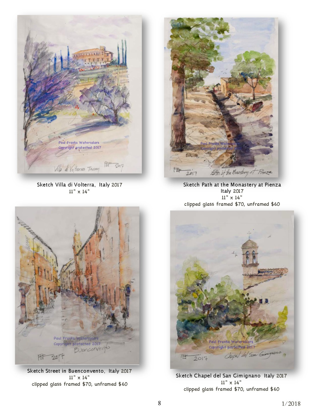 Paul Franks Watercolor Catalog-4 Italian Village_Landscapes1_11_18_Page_8