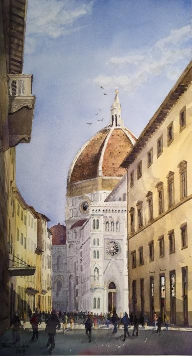 Duomo from via del L'Orivolo