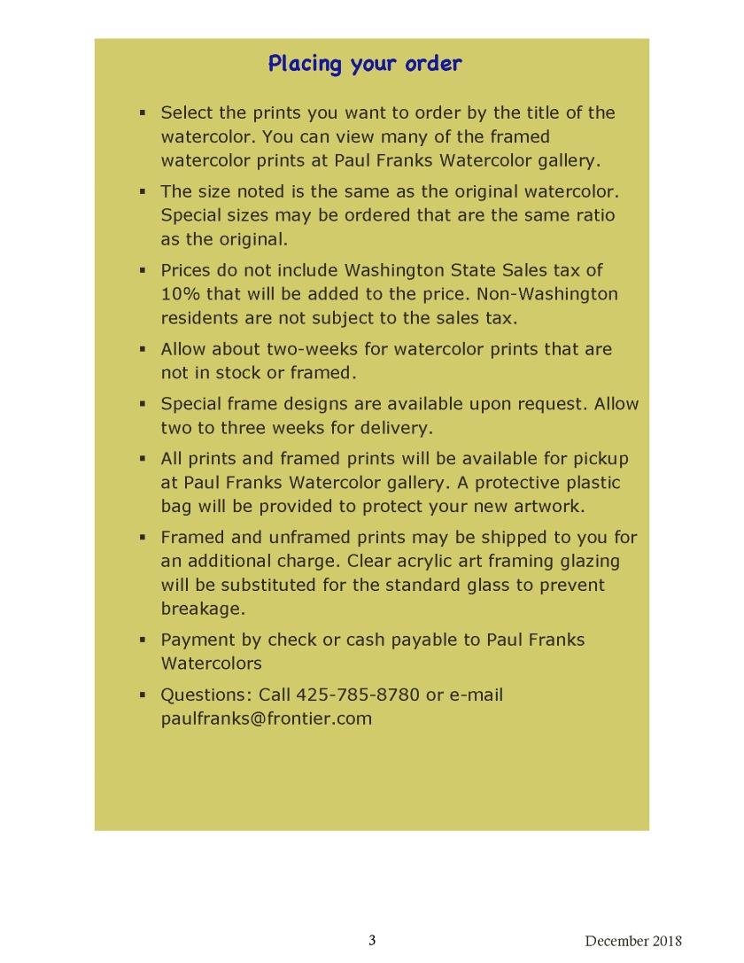 Paul Franks Watercolor Placing Your Order 12_2018